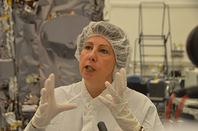 Nicola Fox, Parker Solar Probe project scientist.