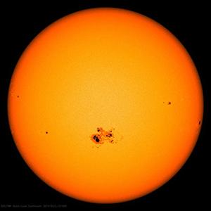 Sunspots.