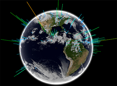 Satellite data confirm boat observations that Earth's global electric circuit is powered by ocean storms