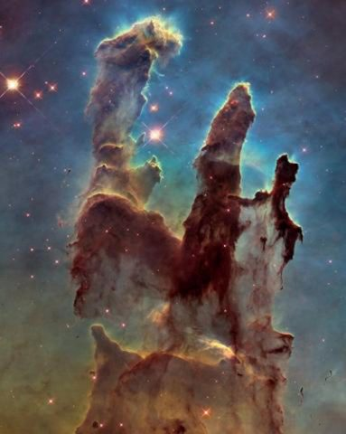 World Space Week: Pillars of Creation