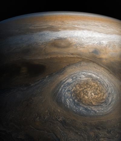 World Space Week: Juno view of Jupiter storm
