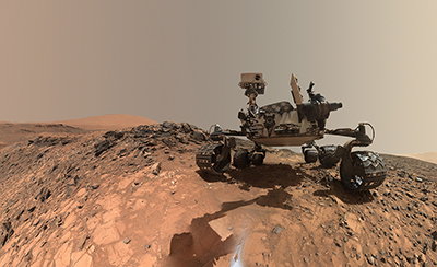 World Space Week: Curiosity rover selfie