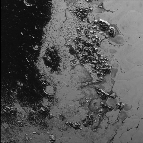 World Space Week: Tenzing Montes on Pluto