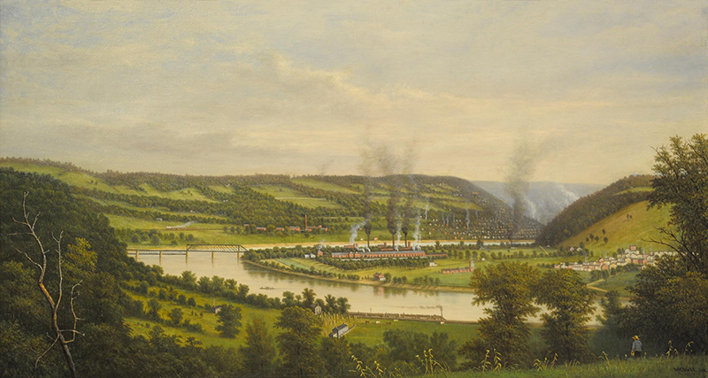 Pittsburgh Steel Company painting