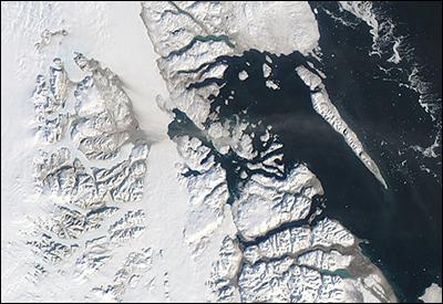 Bredebrae, Greenland dust cloud
