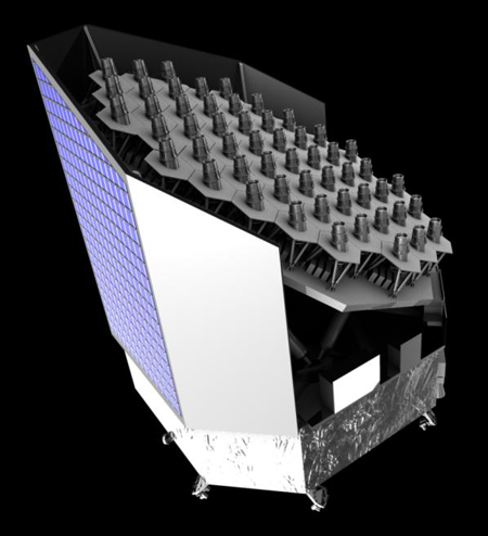 Artist concept of PLATO satellite