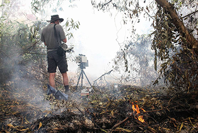Researchers measure emission factors for tropical peatland fires in Malaysia
