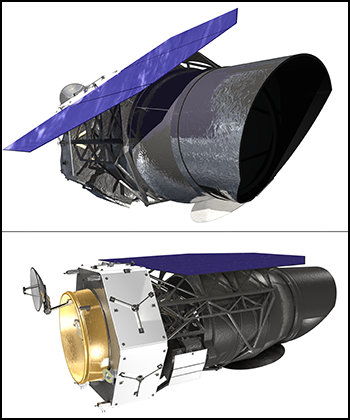 Design concept of the WFIRST spacecraft