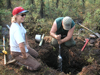 Permafrost cores from Bonanza Creek Experimental Forest, Fairbanks, Alaska