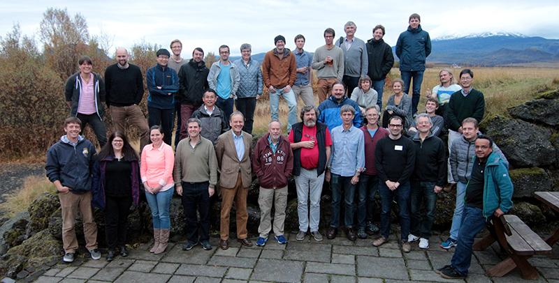 Participants at the 8th Nordic Paleomagnetism workshop