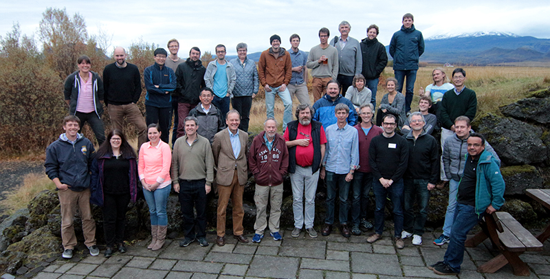 Participants at the 8th Nordic Paleomagnetism workshop