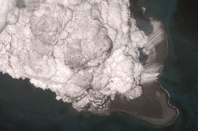 Bogoslof volcanic eruption May 28, 2017