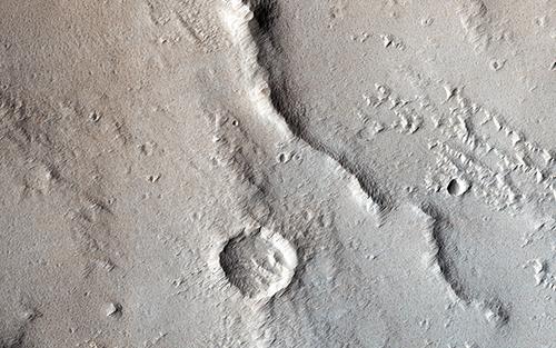 Mars thrust faulting
