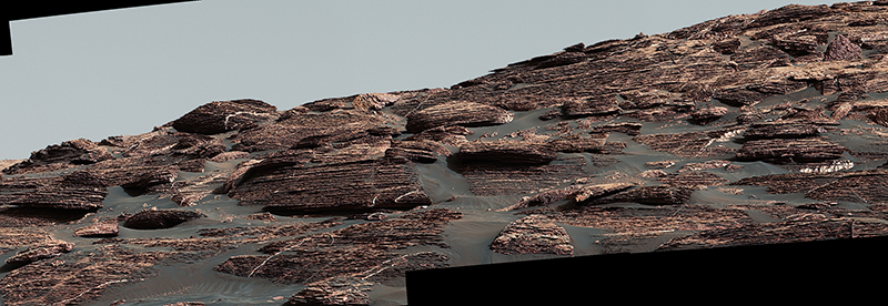 Vera Rubin Ridge on Aeolis Mons, Mars