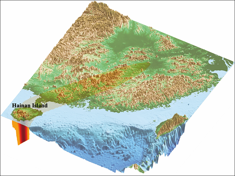 Researchers use a new approach to link mantle plumes to volcanoes on China's Hainan Island