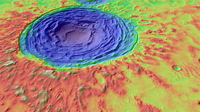 New research examines geologic processes in Hrad Vallis that could have provided hospitable conditions for microbial life