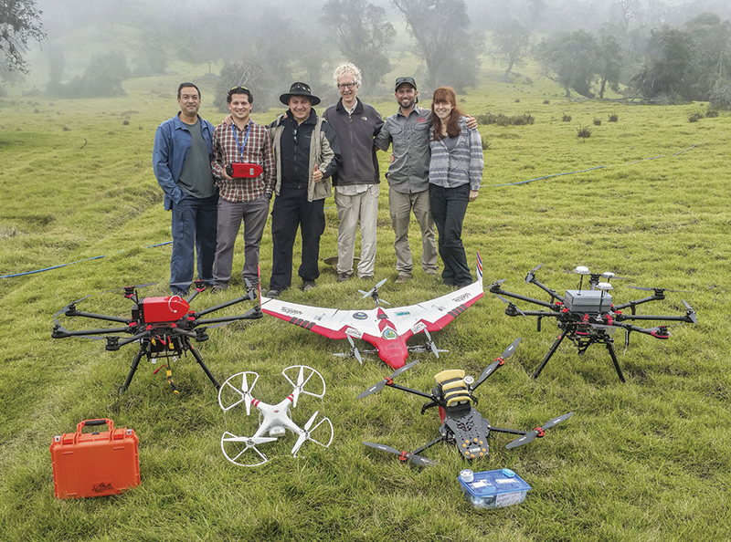 A fleet of specially-designed drones could be the key to improving the science of volcano eruption forecasting.