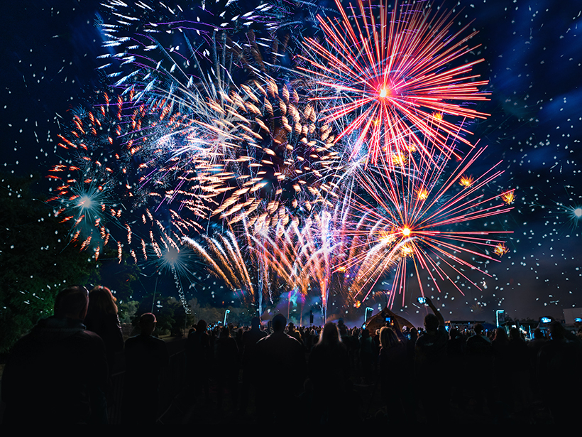 July Fourth: A Rock Guide to Fireworks