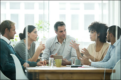 Even early on in your geoscience job, you can support your new team by contributing ideas in meetings