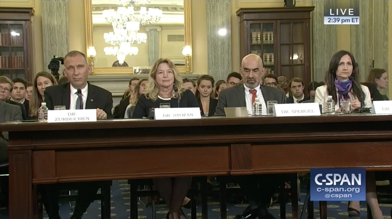 Witnesses who testified before the Senate Subcommittee on Space, Science, and Competitiveness on 1 August