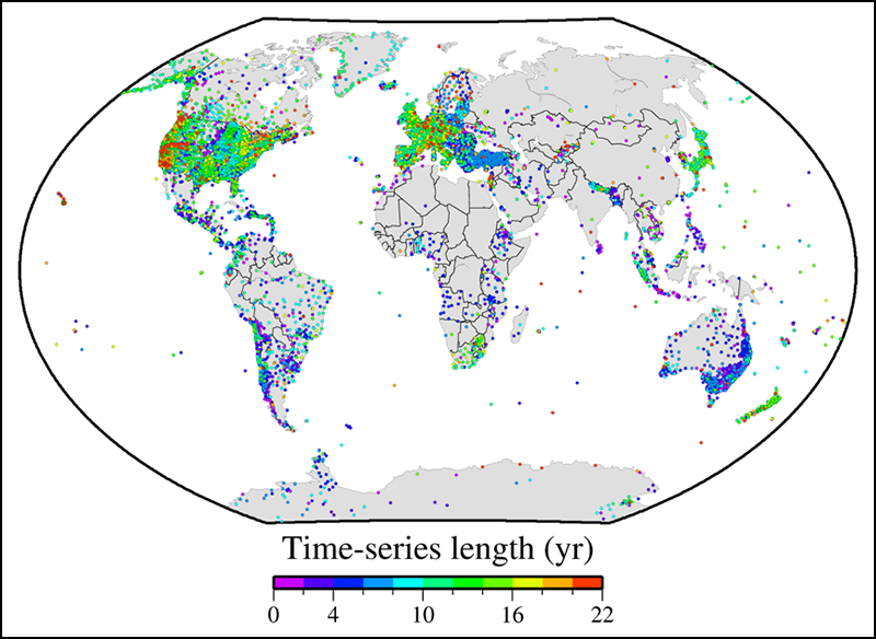 Harnessing the GPS Data Explosion for Interdisciplinary