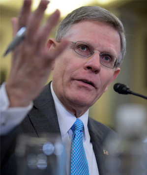 Kelvin Droegemeier, testifying at a hearing of the Senate Committee on Commerce, Science, and Transportation.