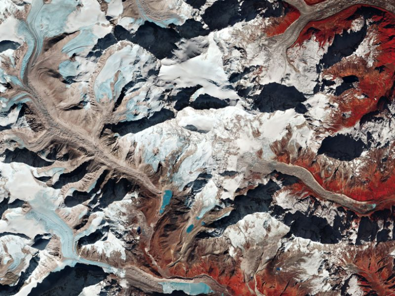 Earth's Rich Textures, Seen by Satellite
