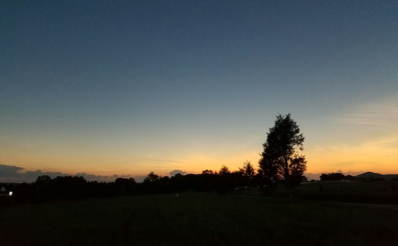 Eclipse totality at Ten Mile, Tenn.