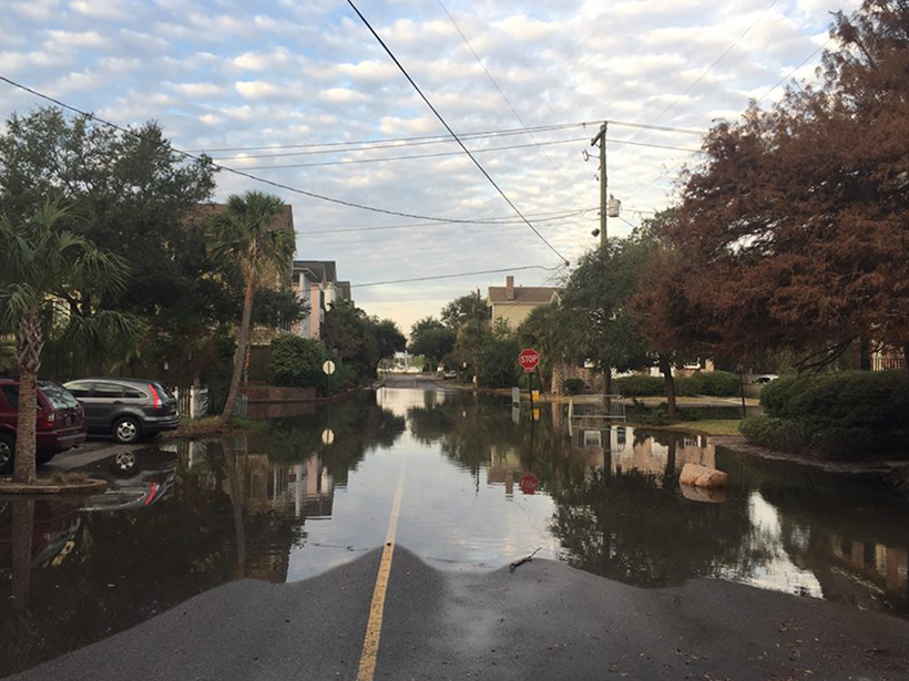 Massive Ocean Waves May Play a Role in Nuisance Flooding