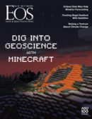 Cover of the November 2018 issue of Eos magazine