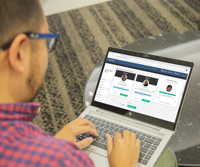 New Mentoring365interface makes it easy to find your match.