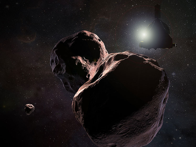 New Horizons Spacecraft to Reach Farthest Body in Solar System Yet