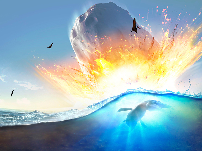 Huge Global Tsunami Followed Dinosaur-Killing Asteroid Impact - Eos