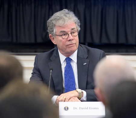 David Evans, executive director of the National Science Teachers Association, at the White House STEM education rollout.