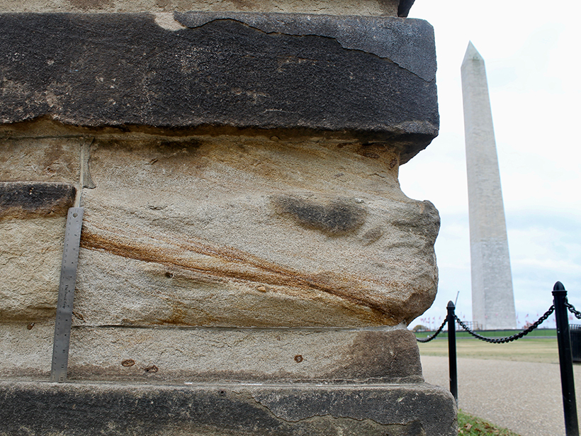 Self-Guided Tour of the Geology in D  C  Buildings - Eos