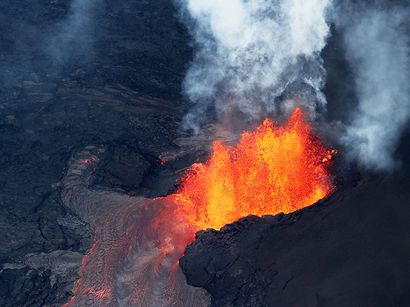 Lessons Learned from Kīlauea Eruption's Media Frenzy