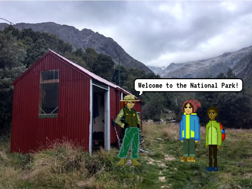 Welcome to the national park