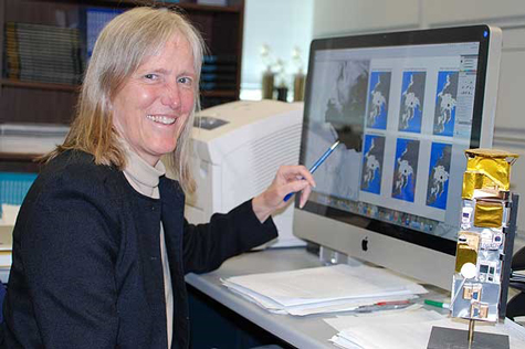 Claire Parkinson uses satellite imagery to study sea ice from space.