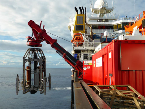 IODP Expedition 357 used seabed drills for the first time in the ocean drilling program.