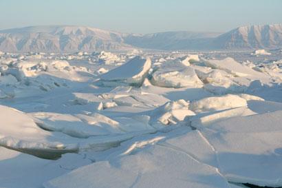 Arctic cyclones can break up sea ice