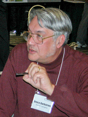 Bruce Barkstrom at the Winter Earth Science Information Partners (ESIP) Meeting in January 2004