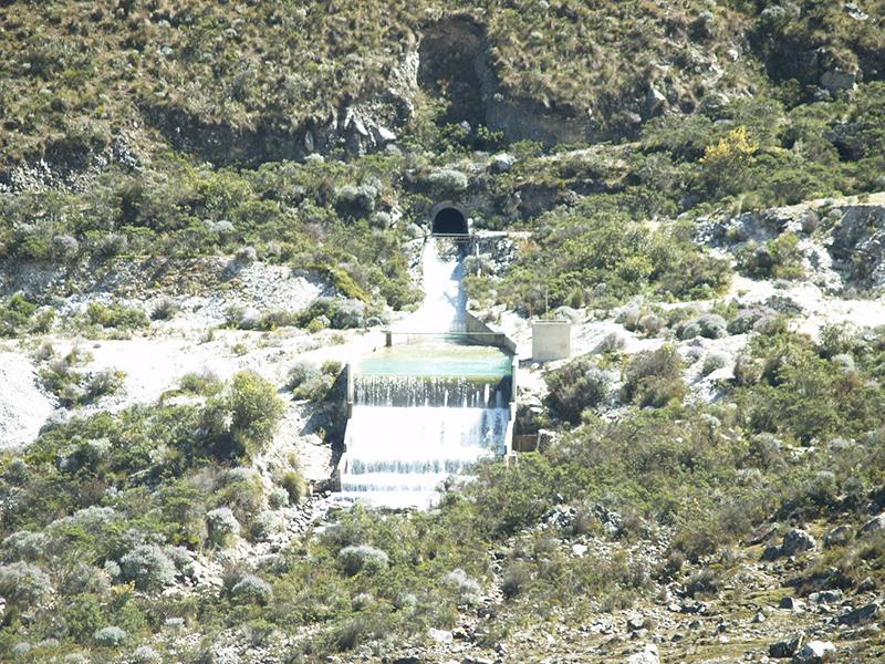 GLOF mitigation Lake Parón Andes Peru
