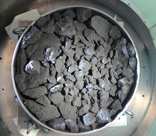 Hayabusa2 Ryugu asteroid simulation JAXA