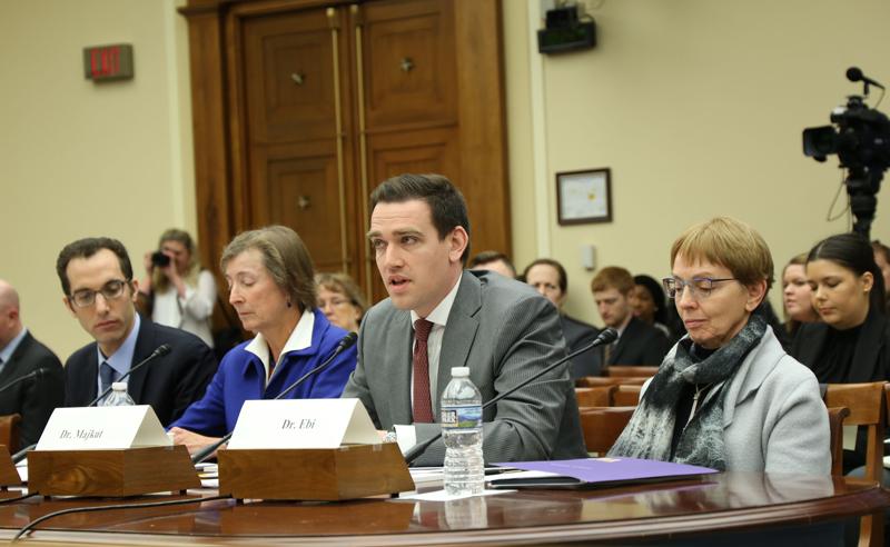Joseph Majkut testifies at Congress science committee hearing
