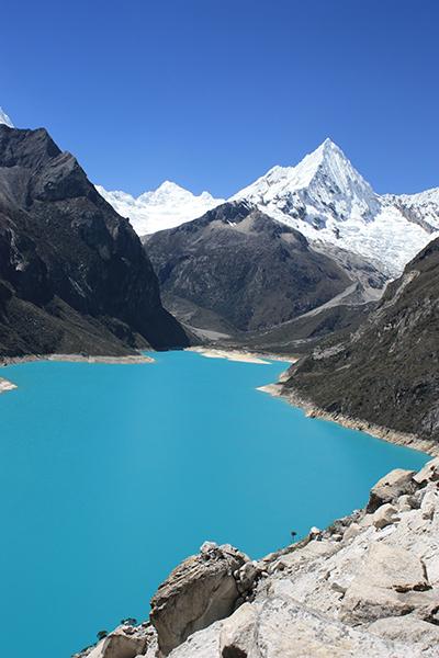 Lake Parón Andes Peru