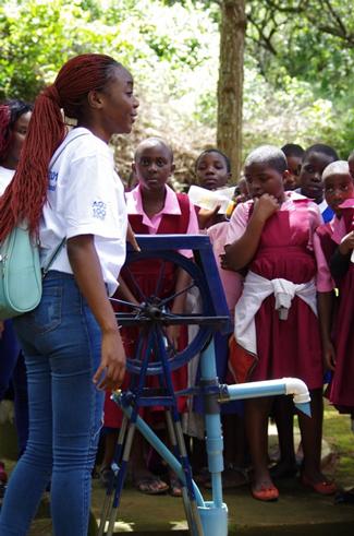 Mzuzu University Girls Science Day AGU Celebrate 100 Grant