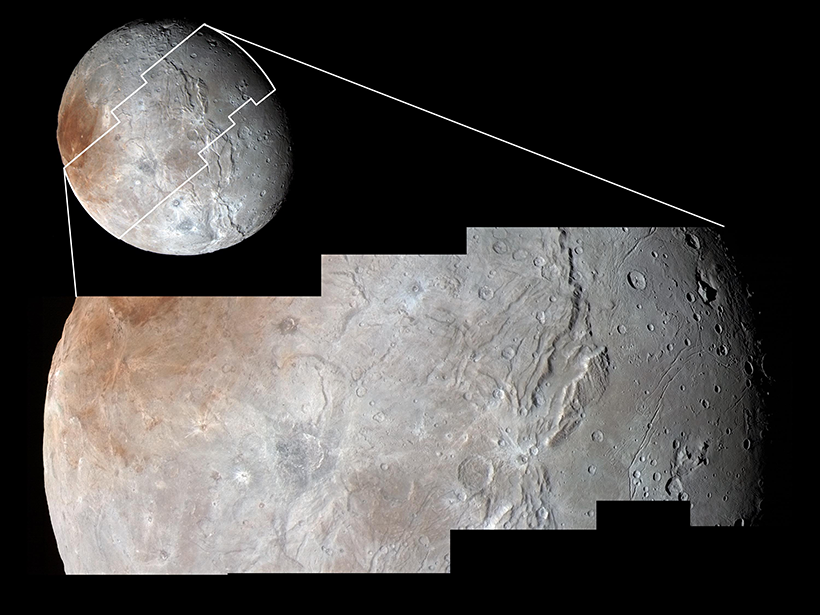 Pluto S And Charon S Craters Reveal A Solar System Deficit Eos