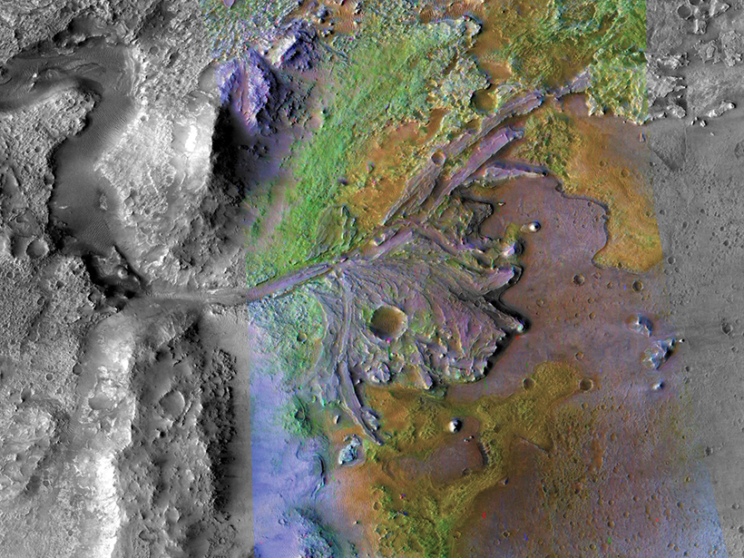 "What Ancient Rivers on Mars Reveal About Its ""Great Drying"""