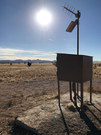 USGS Climate Response Network well in the Big Chino subbasin near Paulden, Ariz.