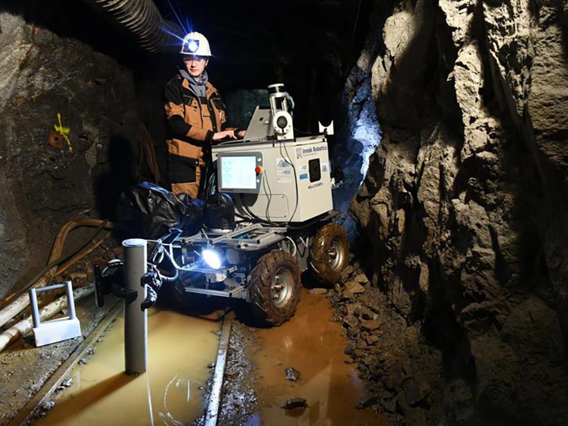 Underground Robots: How Robotics Is Changing the Mining